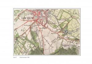 Kaart Lochem 1900